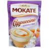 Мokate, Cappuccino Carmelowe, 110 г, Мокатэ, Капучино со вкусом карамели, растворимый