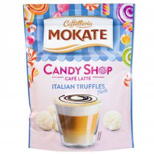 Мokate, Candy Shop Latte Italian Truffles, 110 г, Мокатэ, Кенди шоп, Латте с трюфелем, растворимый