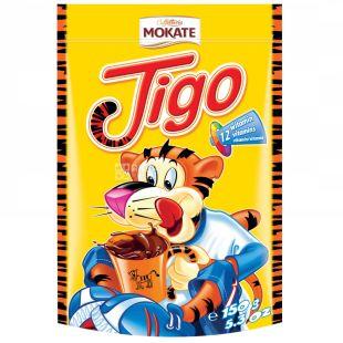 Mokate, Tigo, 150 г, Мокате, Какао, розчинне, вітамінізоване