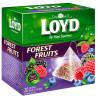 Loyd, Forest fruits, 20 пак., Чай Лойд, Лісові ягоди, фруктовий