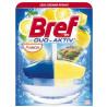 Block for toilet bowl Bref Duo-activ (Bref Duo-Aktiv) lemon, basket, 50 ml