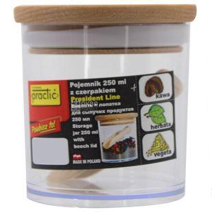 Ємність для сипучих продуктів з лопаткою, 250 мл, ТМ Practic