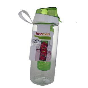 Herevin Fruit MIX, Пляшка для спорту з інфузором, 0,65 л