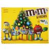 M&M's and friends Велика Бандероль, Набір цукерок новорічний, 329 г, картон