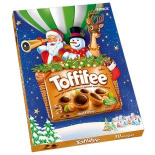 Toffifee Санта Воздушный шар, Конфеты новогодние, 250 г, картон