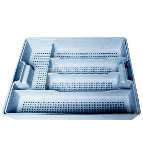 Hemoplast, Лоток пластиковый для столовых приборов с поддоном, 5 отделений