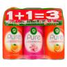 Air Wick Pure, Сменный баллон, Набор 1 + 1 = 3, 250 мл, Упаковка 3 шт.