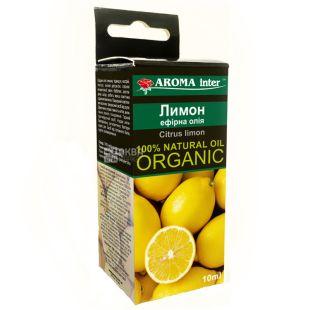 Эфирное масло Лимон Aroma Inter (Арома Интер), 10 мл