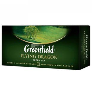 Greenfield, 25 pcs., Green Tea, Flying Dragon