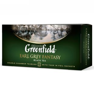 Greenfield, 25 pcs., Tea Black, Earl Gray Fantasy