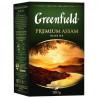Greenfield, Premium Assam,100 г, Чай Гринфилд, Премиум Ассам, черный