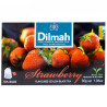 Dilmah, Black Tea, Strawberry, 20 packs, m / s