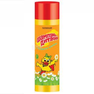 Кря-кря, Дитячий шампунь з екстрактом ромашки, 250мл, ТМ Supermash