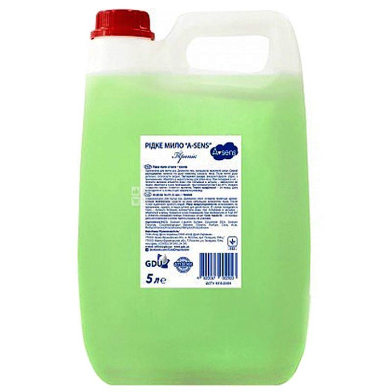 Asens, 5 л, Жидкое мыло, Тропик