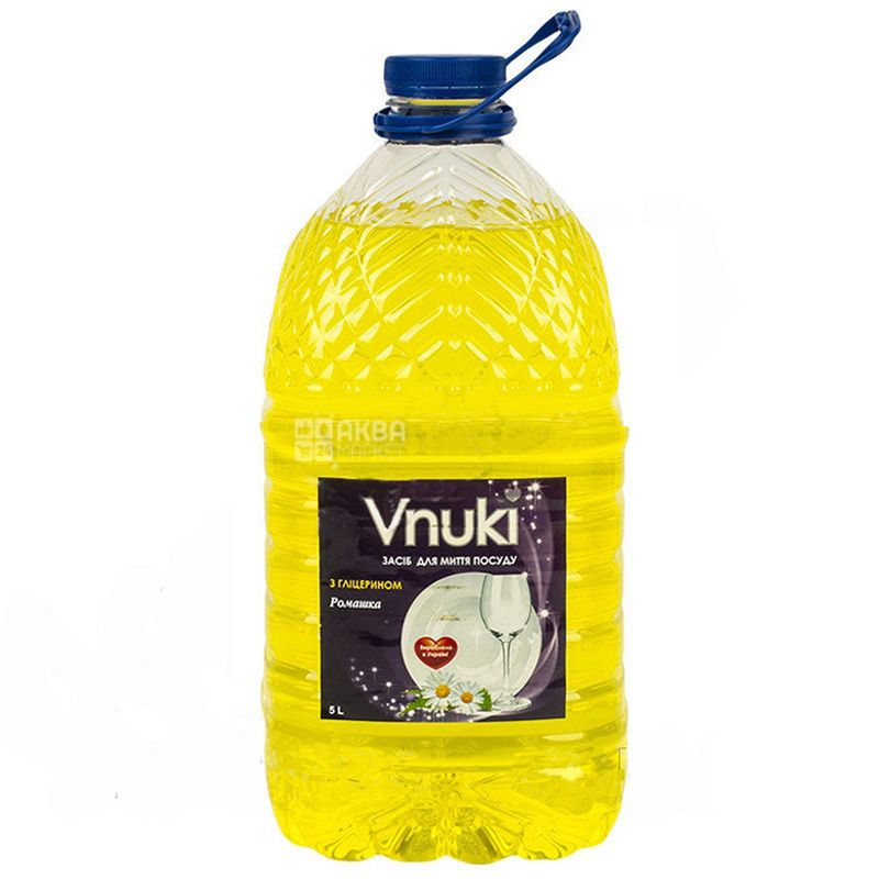 Chamomile, Dishwashing liquid with glycerin, 5l, PET