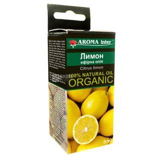 Масло Лимон Aroma Inter (Арома Интер), 5 мл