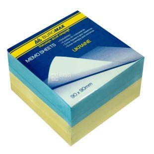 Buromax Ukraine, Block of paper of multi-colored, 90 * 90 * 60 mm