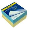 Buromax Україна, Блок паперу різнокольоровий, 90*90*60 мм
