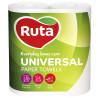 Ruta, Universal, 2 рул., Паперові рушники Рута, 2-шарові, 58 відривів