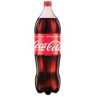 Coca-Cola, 2 л, Кока-Кола, Вода сладкая, ПЭТ