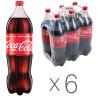 Coca-Cola, Упаковка 6 шт. по 2 л, Кока-Кола, Вода сладкая, ПЭТ
