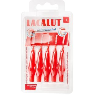 Brushes Lacalut Interdental S, 5pcs