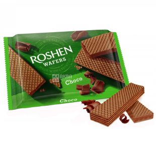 Roshen Wafers, Wafers with Chocolate Filling, 72 g