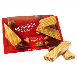 Roshen Wafers, Вафлі з горіховою начинкою, 72 г