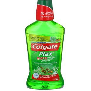 Ополіскувач Colgate Plax Кора дуба і ялиця, для ясен, 500мл