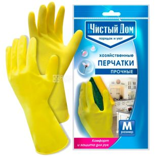 Clean house, durable household gloves M