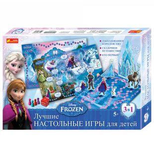 Ранок Настольные игры Фрозен, Ледяное сердце