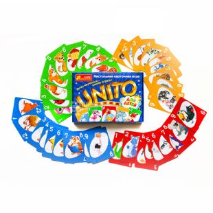 Ранок Настільна гра Уніта, для дітей, картон