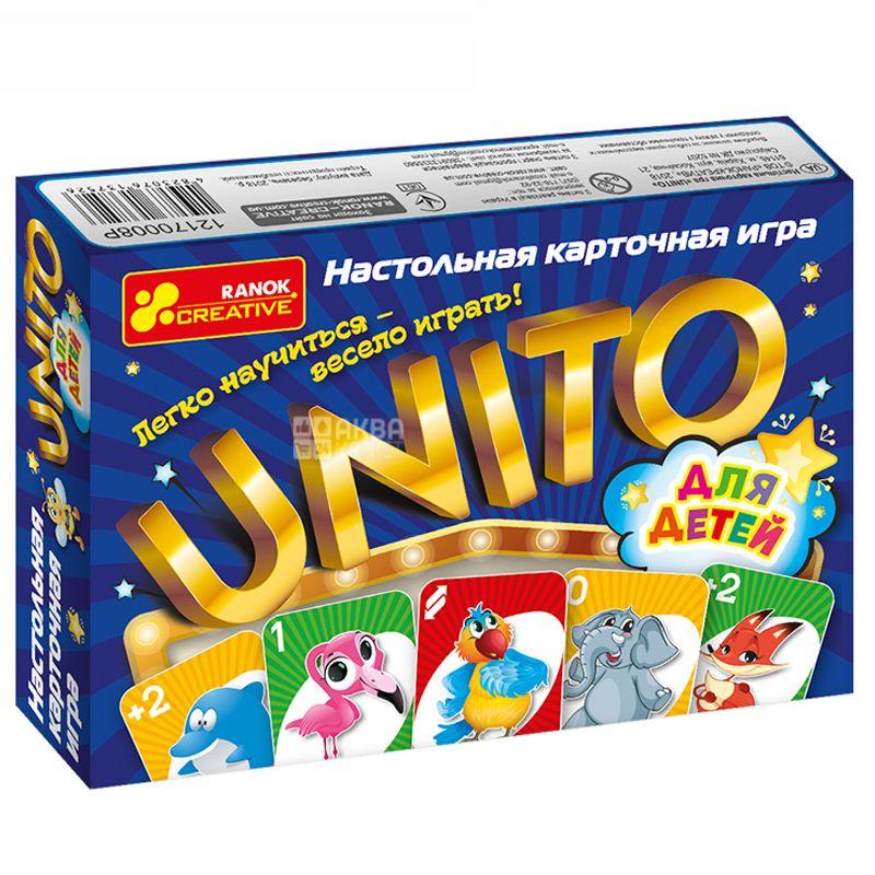 Ранок Настольная игра Унита, для детей, картон
