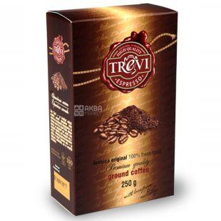 Trevi Espresso, 250 г, Кофе Треви Эспрессо, темной обжарки, молотый