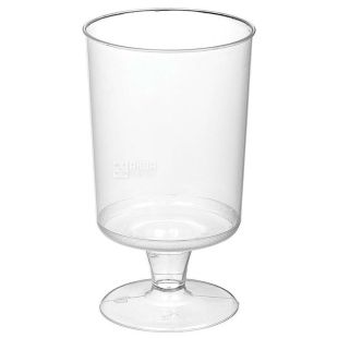 Glass with a leg of fiberglass 100 ml, 16 pcs.