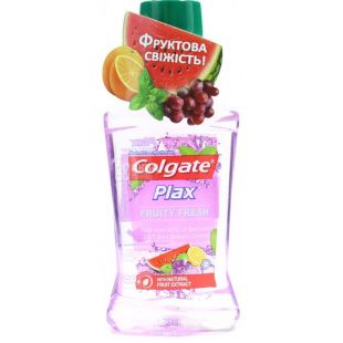 Ополаскиватель Colgate Plax Fruity Fresh, для полости рта, 250 мл
