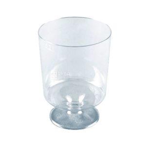Glass made of fiberglass with a leg 50 ml, 40 pcs.