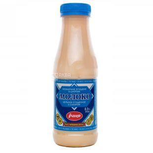 Ічня, Молоко згущене незбиране з цукром, 8,5%, 480 г, ПЕТ