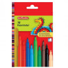 Herlitz, Colored markers, 2 mm, 10 colors, cardboard