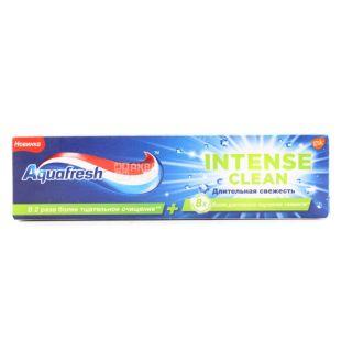 Aquafresh Intense Clean, Зубна паста, Тривала свіжість, 75 мл