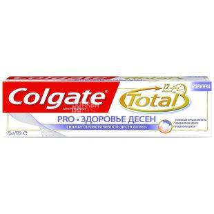 Colgate Total 12 Pro, Зубна паста, Здоров'я ясен, 75 мл