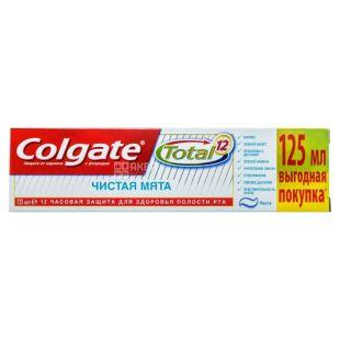 Colgate Total 12, Зубна паста, Чиста м'ята, 125 мл