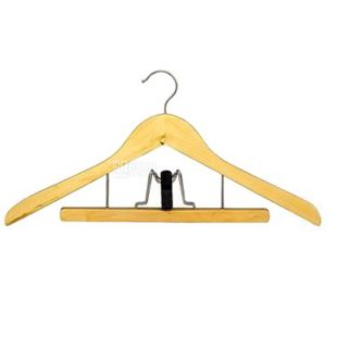 My House hanger with clothespin, for trousers, 44.5 * 23.5 * 1.4 cm.