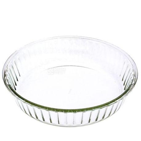 Simax, Форма для выпечки из термостекла круглая, 26х5,8х4 см