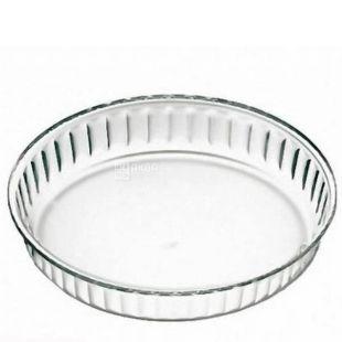 Simax, Baking dish from thermoglass round, 280х40 mm