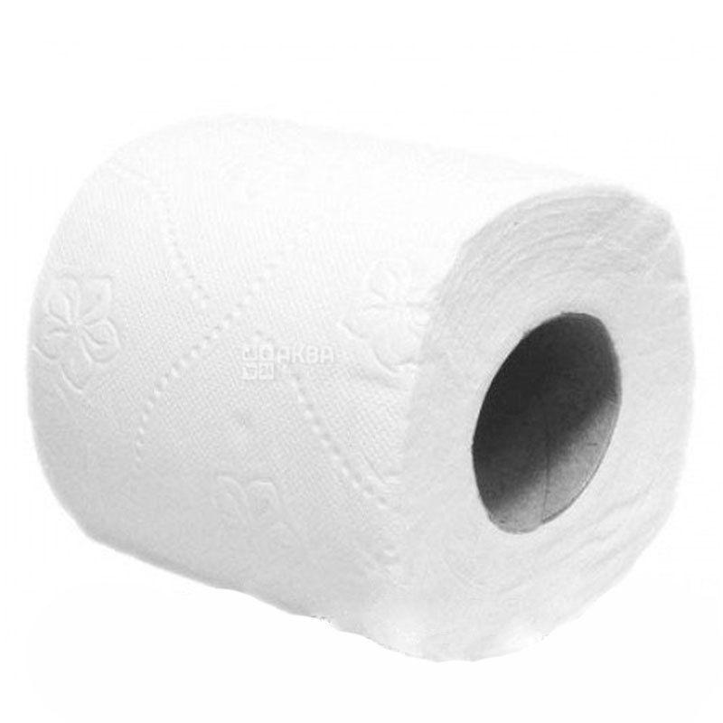 КПК, 1 рул., Туалетная бумага, 3-х слойная