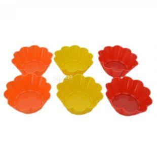 Krauff Dainty, Cupcake Bakeware Set, 6.5x6.5x3 cm, 6 Pack
