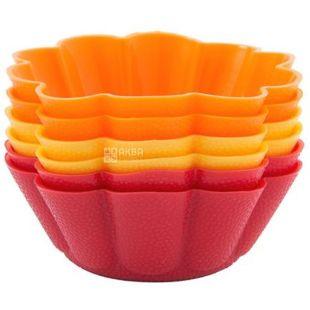 Krauff Dainty, Набір форм для випічки кексів, 6.5x6.5x3 см, 6 шт