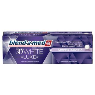 Blend-a-med 3D White Luxe Pearl Shine, Toothpaste, 75 ml