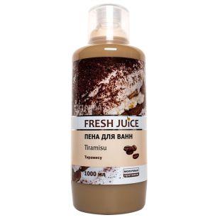 Fresh Juice Tiramisu, Пена для ванн, 1 л